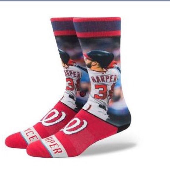 Stance Bryce Harper Washington Nationals Socks